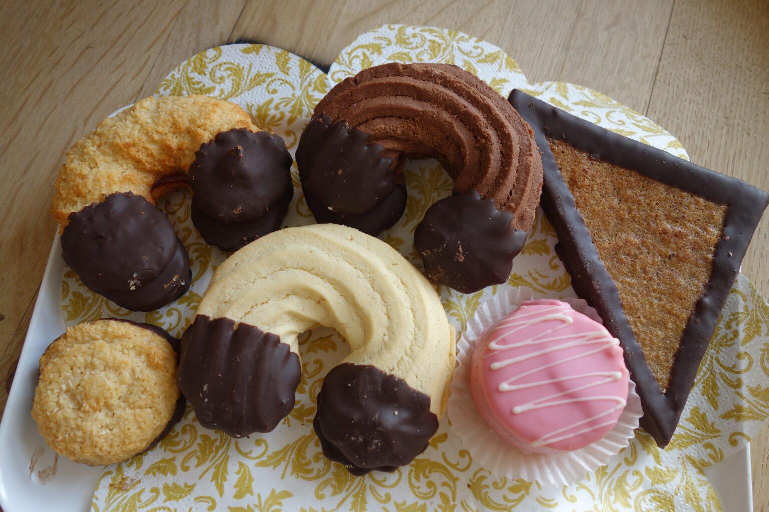Süße Köstlichkeiten im Schlossladen
